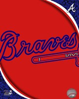 2011 Atlanta Braves Team Logo Fine Art Print