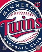 2011 Minnesota Twins Team Logo Fine Art Print