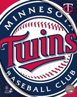 2011 Minnesota Twins Team Logo Framed Print