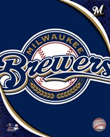 2011 Milwaukee Brewers Team Logo Fine Art Print