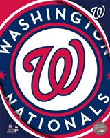 2011 Washington Nationals Team Logo Fine Art Print