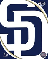 2011 San Diego Padres Team Logo Framed Print