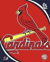 2011 St. Louis Cardinals Team Logo Framed Print