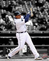 Miguel Cabrera 2011 Spotlight Action Fine Art Print