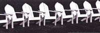 "Block Island Chairs I by Susan Frost - 18"" x 6"""