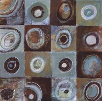 "Earth II by Tara Gamel - 24"" x 24"""