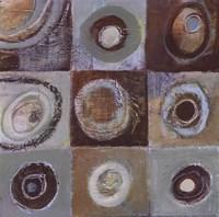 "Abstract Earth II - mini by Tara Gamel - 12"" x 12"""