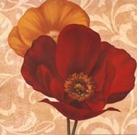 "Poppies I by Jordan Gray - 12"" x 12"""