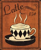 Retro Coffee IV Fine Art Print
