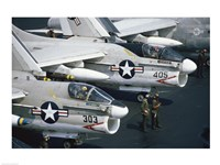 U.S. Navy, Vought A-7 Crusader, Jet Fighters - various sizes
