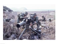 United States Marines Tow Anti-Tank Weapons Fine Art Print