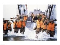 Turkish Marines Amphibious Landing NATO Maneuvers - various sizes