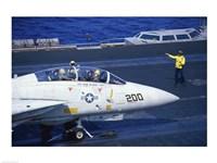 Grumman F-14 Tomcat Flight Deck USS Eisenhower - various sizes