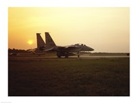 US AIR FORCE, F-15 EAGLE FIGHTER JET - various sizes