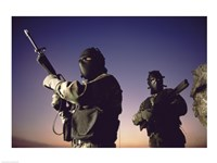 SWAT Team  United States Military Fine Art Print