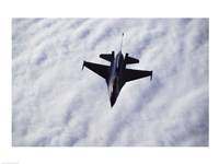 U.S. Air Force F-16 in the air - various sizes