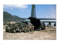 EC-130E Unloading - various sizes