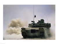 M-2 Tank Framed Print