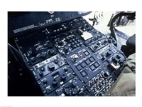 Central Control Console in the Cockpit of a UH-60A Black Hawk Helicopter - various sizes - $29.99