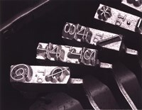 Typewriter Symbols Fine Art Print