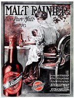 Malt Rainier Beer Fine Art Print