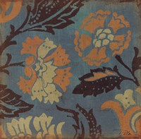 "Estampes Floraux II by Alain Pelletier - 12"" x 12"""