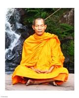 Abbot of Watkungtaphao in Phu Soidao Waterfall - various sizes