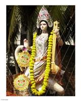Saraswati with Vitarka Mudra - various sizes, FulcrumGallery.com brand