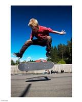 Skateboarder Fine Art Print