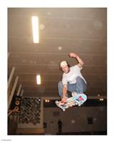 Skateboarding Trick Indy Grab Fine Art Print