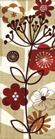 "Floral Pop II Panel by Mo Mullan - 8"" x 20"""