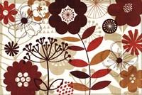 "Floral Pop I (horizontal) by Mo Mullan - 36"" x 24"""