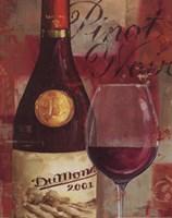 """Vin Abstrait I by Lisa Audit - 11"""" x 14"""""""