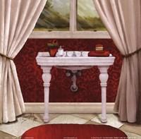 Red Bain II Fine Art Print
