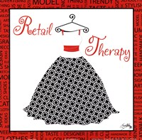 Retail Therapy Fine Art Print