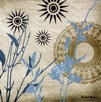 Botanical Silhouettes III Fine Art Print