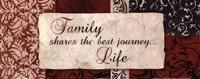 """20"""" x 8"""" Family Art"""
