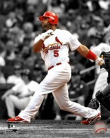 Albert Pujols 2011 Spotlight Action Fine Art Print
