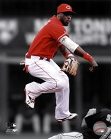 Brandon Phillips 2011 Spotlight Action Fine Art Print