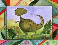 Baby Dino Mytes - Tank Fine Art Print