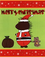 "Santa Quill by Serena Bowman - 11"" x 14"""