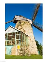 Traditional windmill at a sugar mill, Morgan Lewis Sugar Mill, Scotland District, Barbados - various sizes