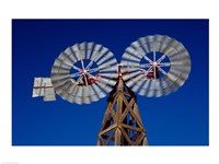 Double Spiral Windmill in Texas - various sizes