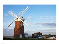 Drainage windmill, Horsey Windpump, Horsey, Norfolk, East Anglia, England - various sizes
