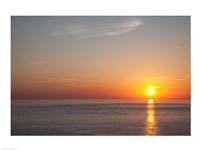 Sunrise over the sea - various sizes - $29.99