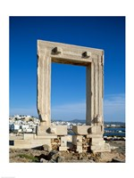 Portara Gateway, Temple of Apollo, Naxos, Cyclades Islands, Greece Fine Art Print