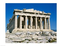 Parthenon, Acropolis, Athens, Greece Framed Print