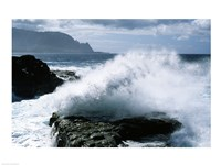 Kauai Hawaii USA Waves Crashing Fine Art Print