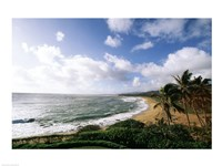 Wailua Beach Kauai Hawaii USA Fine Art Print