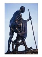 Statue of Mahatma Gandhi, Chennai, Tamil Nadu, India Fine Art Print